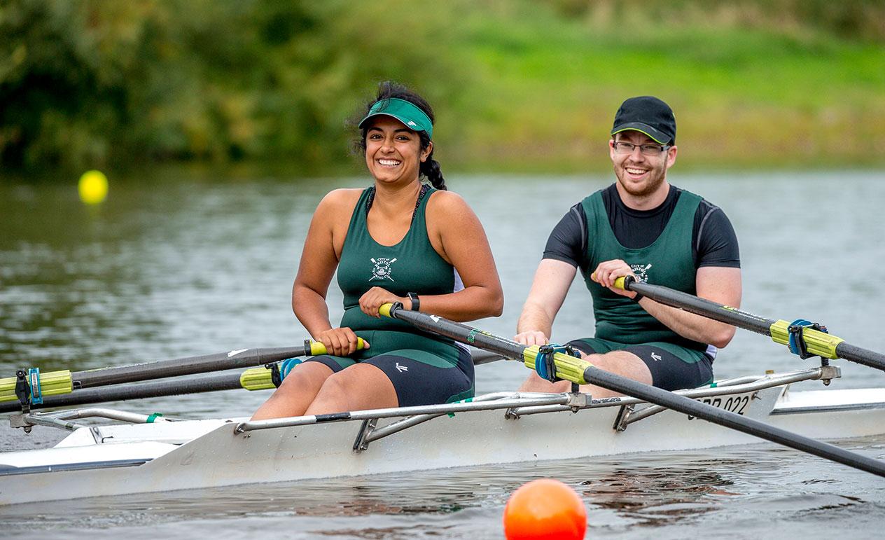 Rowing. It's everyone's sport.