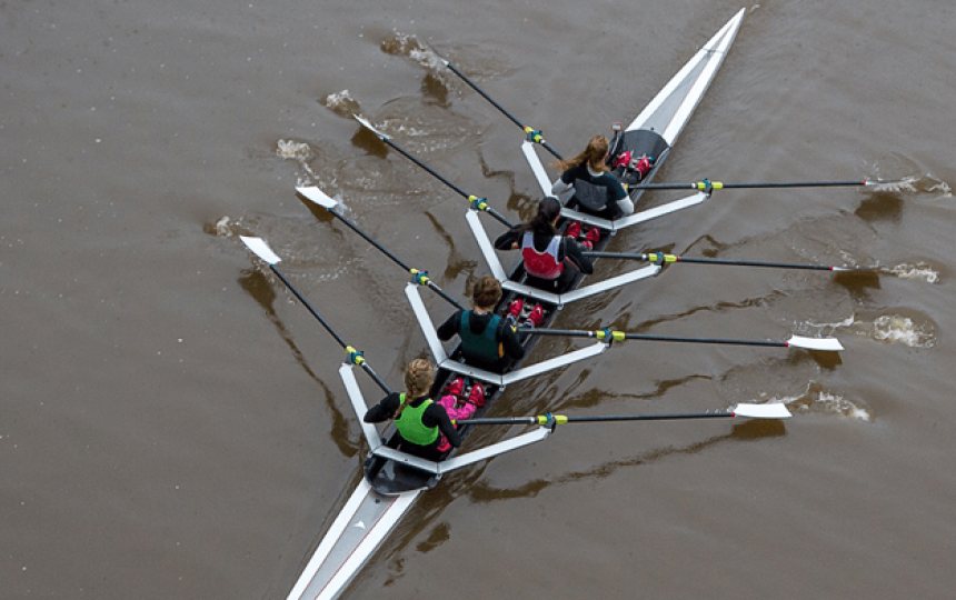 5 reasons on-water rowing is great for fitness